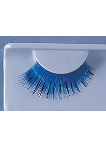 Eyelashes Blue With Black