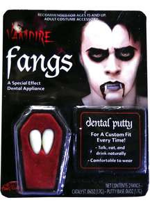 Fangs Dentures Vampire