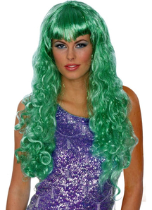 Green Wig For Mermaid Costume
