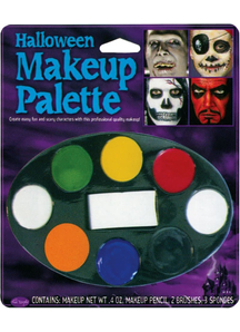 Halloween Makeup Tray 8 Colors