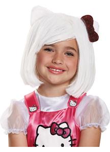 Hello Kitty Wig For Children