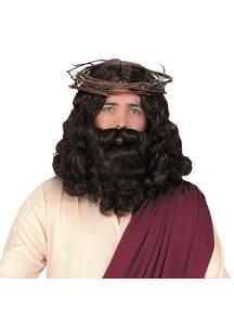 Jesus Peruke With Beard