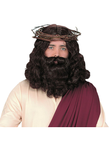Jesus Wig With Beard