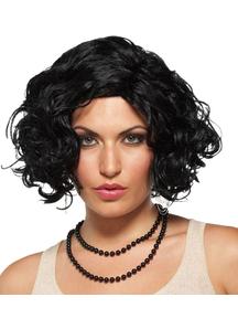 Jet Setter Black Wig For Women
