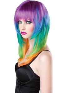 Multicolored Wig Kaleidoscope