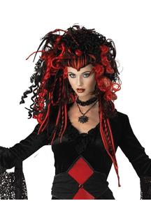 Nightmare Black Widow Peruke