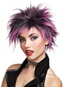 Pink Wig For Punker Chick