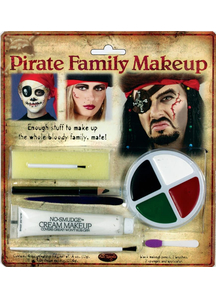 Pirate Family Makeup Kit