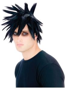 Scenester Wig Black