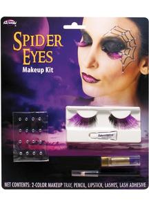Spider Eye Lashes Makeup Kit