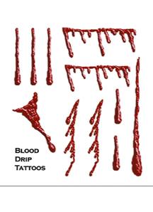 Tattoo Blood Drip Fx