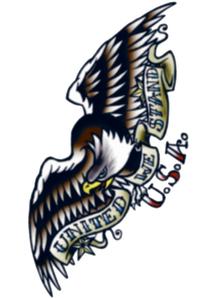 Tattoo Vintage Eagle 1910
