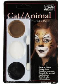 Tri Color Palette Cat Animal
