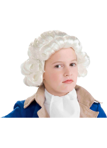 Wig For Colonial Boy Costume