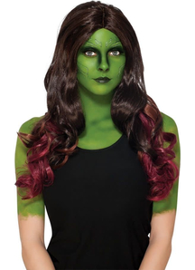 Wig For Gamora Costume