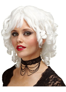 Wig Ghost Doll White For Halloween