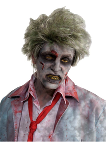 Wig Zombie Grave For Halloween
