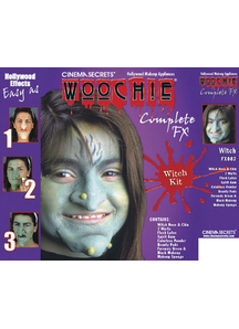 Witch Make Up Kit Deluxe