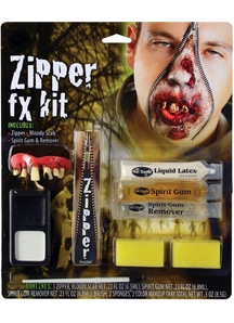 Zipper Character Make Up Kit Zombie