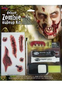 Zombie Deluxe Makeup Kit