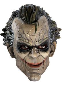 3/4 Vinyl Mask For Joker Costume