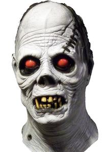 Albino Ghoul Latex Mask For Halloween