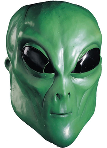Alien Green Mask For Adults