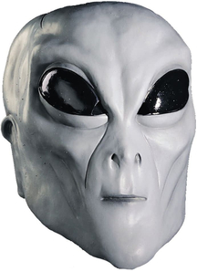 Alien Grey Mask For Adults - 18366