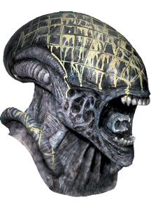 Alien Mask Deluxe For Adults
