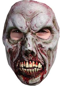 B Spaulding Zombie 7 Adlt Face For Halloween
