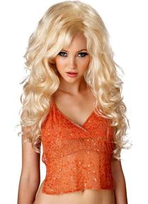 Bombshell Blonde Wig For Women