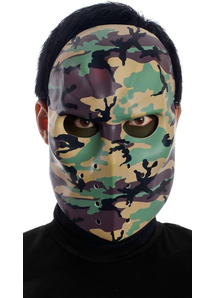 Camo Hockey Mask For Adults