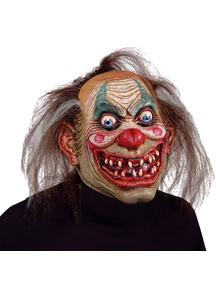 Carnival Drifter Clown Mask For Halloween