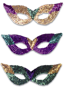 Cat Eye Masks Seq Asst Color For Adults