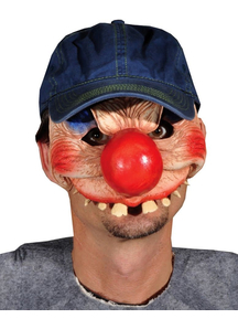 Clowning Around Mask For Halloween