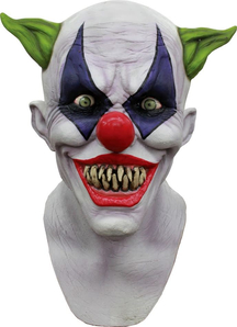 Creepy Giggles Latex Mask For Halloween