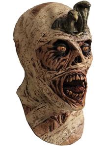 Cursed Mummy Latex Mask For Halloween