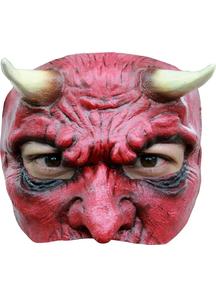 Devil Latex Half Mask For Halloween