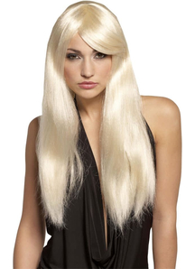 Diva Blonde Wig For Adults