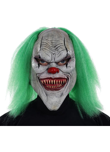 Evil Clown Mask For Halloween - 18083
