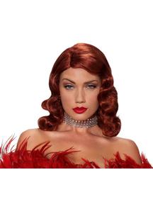 Femme Fatale Red Peruke