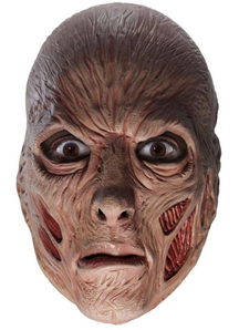 Freddy Kreuger 3/4 Mask For Adults