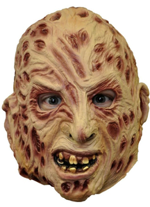 Freddy Mask 3/4 Vinyl For Adults