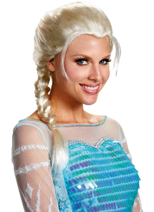 Frozen Elsa Wig For Adults