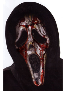 Ghost Face Bleeding Zombie Mask For Halloween