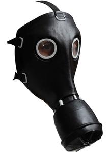 Gp-5 Gas Black Latex Mask For Halloween