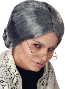 Grandma Wig For Adults