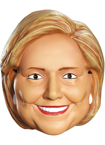 Hillary Clinton 1/2 Mask For Adults