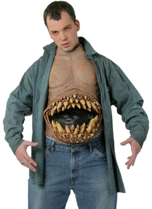 Hunger Pains Chest Piece For Halloween