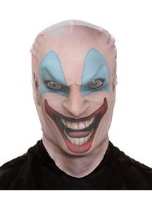 Killer Clown Skin Mask For Halloween